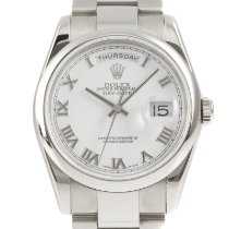 Rolex Day-Date 36 Witgoud 36mm Wit