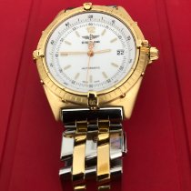 Breitling Antares Yellow gold 39mm White