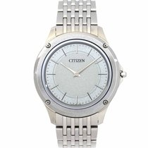 Citizen Eco-Drive One pre-owned 38mm Silver Steel