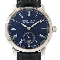 Ulysse Nardin Classico pre-owned 40mm Blue