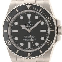 Rolex 114060 Steel 2016 Submariner (No Date) 40mm pre-owned
