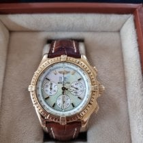 Breitling Crosswind Special Yellow gold 43.7mm Mother of pearl No numerals United Kingdom, Stockport