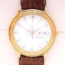 Audemars Piguet Huitième Gelbgold 40,5mm Weiß Keine Ziffern