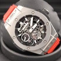 Hublot Big Bang Meca-10 Titanium 45mm Transparent No numerals