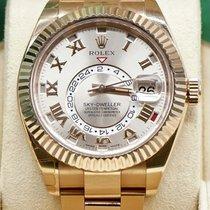 Rolex Sky-Dweller Rose gold 42mm Grey Roman numerals United Kingdom, London