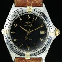 Breitling Callisto Goud/Staal 34mm Zwart Arabisch