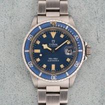Tudor Submariner Otel 40mm Albastru Fara cifre