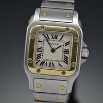 Cartier Santos Galbée Gold/Steel 24mm Silver Roman numerals United States of America, Arizona, Scottsdale