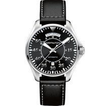 Hamilton Khaki Pilot Day Date new 2021 Automatic Watch with original box and original papers H64615735