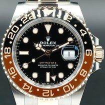 Rolex (ロレックス) GMT マスター II 40mm ブラック 文字盤無し