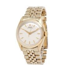 Rolex Bubble Back Yellow gold 34mm Silver United States of America, New York, Hartsdale