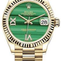 Rolex Datejust 31 nuovo 2021 Automatico Orologio con scatola e documenti originali 278278