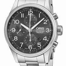 Oris Steel 44mm Automatic 774 7699 4063-MB 01 774 7699 4063-07 8 22 19 , 0177476994063-0782219 new United States of America, New York, Monsey