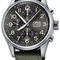 Oris Big Crown ProPilot Chronograph Steel 44mm Grey Arabic numerals United States of America, New York, Monsey