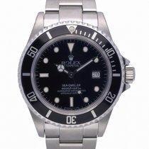 Rolex Sea-Dweller 4000 Steel 40mm Black No numerals United Kingdom, Radlett