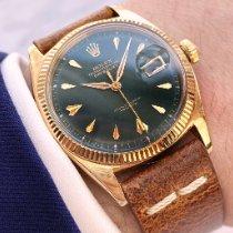 Rolex Datejust 6605 Sehr gut Gelbgold 36mm Automatik