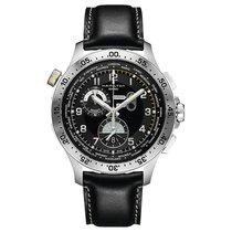 Hamilton Khaki Aviation new Quartz Chronograph Watch with original box and original papers H76714735