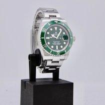 Rolex Submariner Date tweedehands 40mm Groen Datum Staal