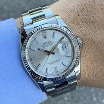 Rolex Datejust Acciaio 36mm Argento Italia, Eur (RM)