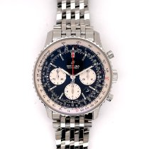 Breitling AB0121211B1A1 Staal 2020 Navitimer 1 B01 Chronograph 43 43mm tweedehands Nederland, Eindhoven