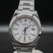 Rolex Datejust II Stahl 41mm Weiß
