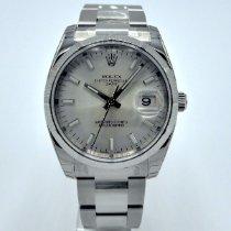 Rolex Oyster Perpetual Date Otel 34mm Argint