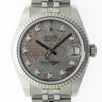 Rolex (ロレックス) レディース デイトジャスト 中古 31mm 日付表示 ステンレス