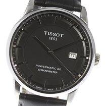 Tissot Luxury Automatic Сталь 41mm Черный