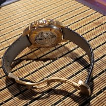 Omega Red gold Automatic Brown pre-owned De Ville Co-Axial