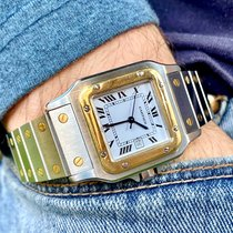 Cartier Santos Galbée Gold/Steel 29mm White Roman numerals United States of America, Florida, ORLANDO