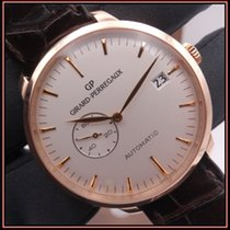 Girard Perregaux Rose gold 40mm Automatic 49543-52-131-BKBA pre-owned