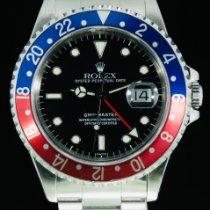 Rolex GMT-Master Acier 40mm Noir Sans chiffres Belgique, bruxelles