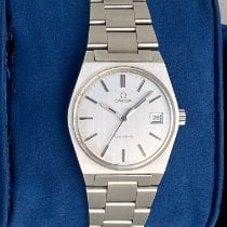 Omega Genève Steel 35mm Silver No numerals United States of America, New York, Syosset