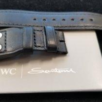 "IWC Parts/Accessories Men's watch/Unisex IWC Big Pilot ""Santoni"" strap new Leather Black Big Pilot"