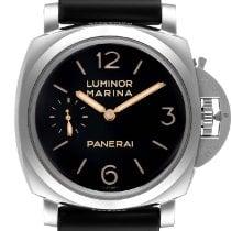 Panerai Luminor Marina 1950 3 Days Сталь 47mm Черный Aрабские