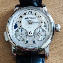 Montblanc Nicolas Rieussec Steel Silver Arabic numerals United States of America, Virginia, Fairfax