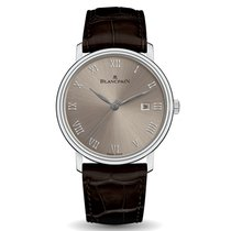 Blancpain White gold 40mm Automatic 6651-1504-55A new