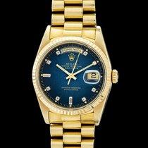Rolex Day-Date 36 Oro giallo 36mm Blu Senza numeri Italia, arezzo