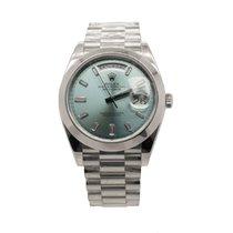 Rolex Day-Date 40 Platinum 40mm Blue No numerals United Kingdom, London