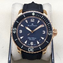 Blancpain Rose gold 45mm Automatic 5015A-3630-63B pre-owned