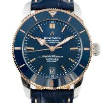 Breitling Superocean Heritage 42 Acero y oro 42mm Azul