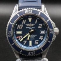Breitling Superocean 42 Staal 42mm Blauw Arabisch