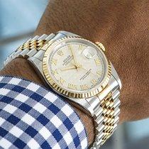 Rolex 16233 Gold/Steel 2002 Datejust 36mm new United Kingdom, London