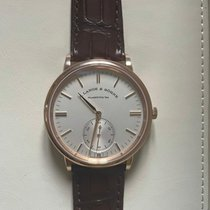 A. Lange & Söhne Red gold Automatic White 38,5mm new Saxonia
