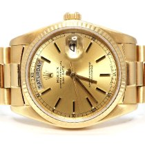 Rolex Day-Date 36 Yellow gold 36mm Gold No numerals United Kingdom, London