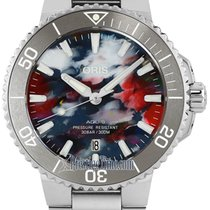 Oris Steel 41.5mm Automatic 01 733 7766 4150-Set Upcycle PET Plastic new United States of America, New York, Airmont