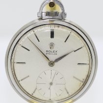 Rolex Watch pre-owned Steel 45,5mm No numerals Manual winding Watch only