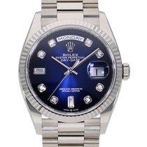 Rolex (ロレックス) デイデイト 36 新品 自動巻き 正規のボックスと正規の書類付属の時計 128239A