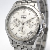 Zenith pre-owned Automatic 38mm White Sapphire crystal 10 ATM
