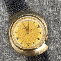 Gruen Желтое золото 38mm Механические Gruen подержанные
